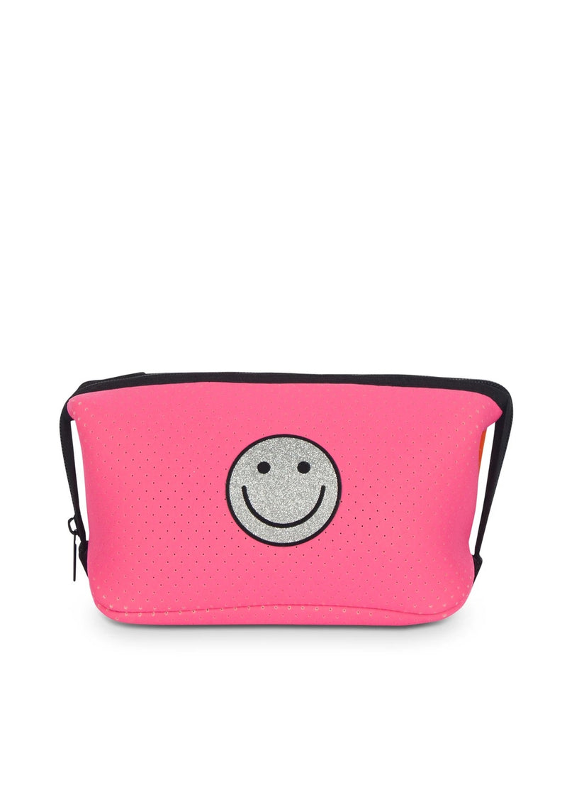 Erin Cosmetic Bag Smiley