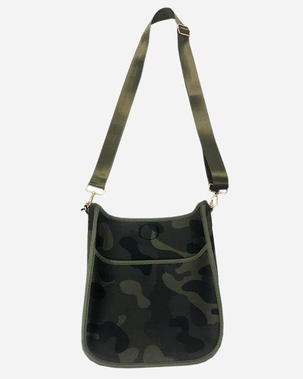 Neoprene Messenger Bag