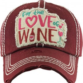 For the Love of Wine Cap
