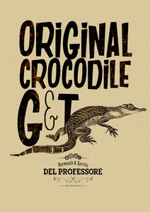 Authentic Crocodile G&T
