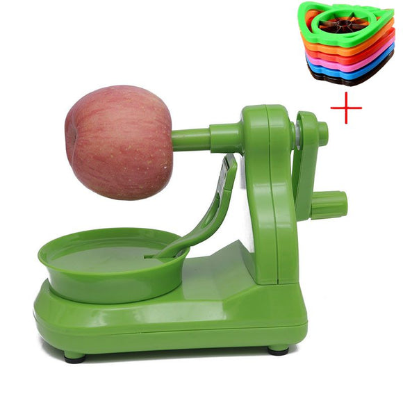 Macchina automatica per pelare le patate o le mele / Multifunction Fruit Peeler Automatic Machine + Cut Apple Device
