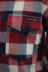 Spooky Fast Label Flannel Shirt