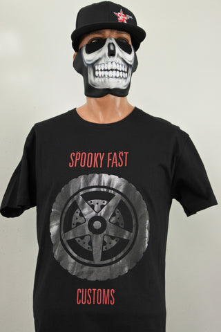 Spooky Fast Shout At The Motorcycle T-Shirt