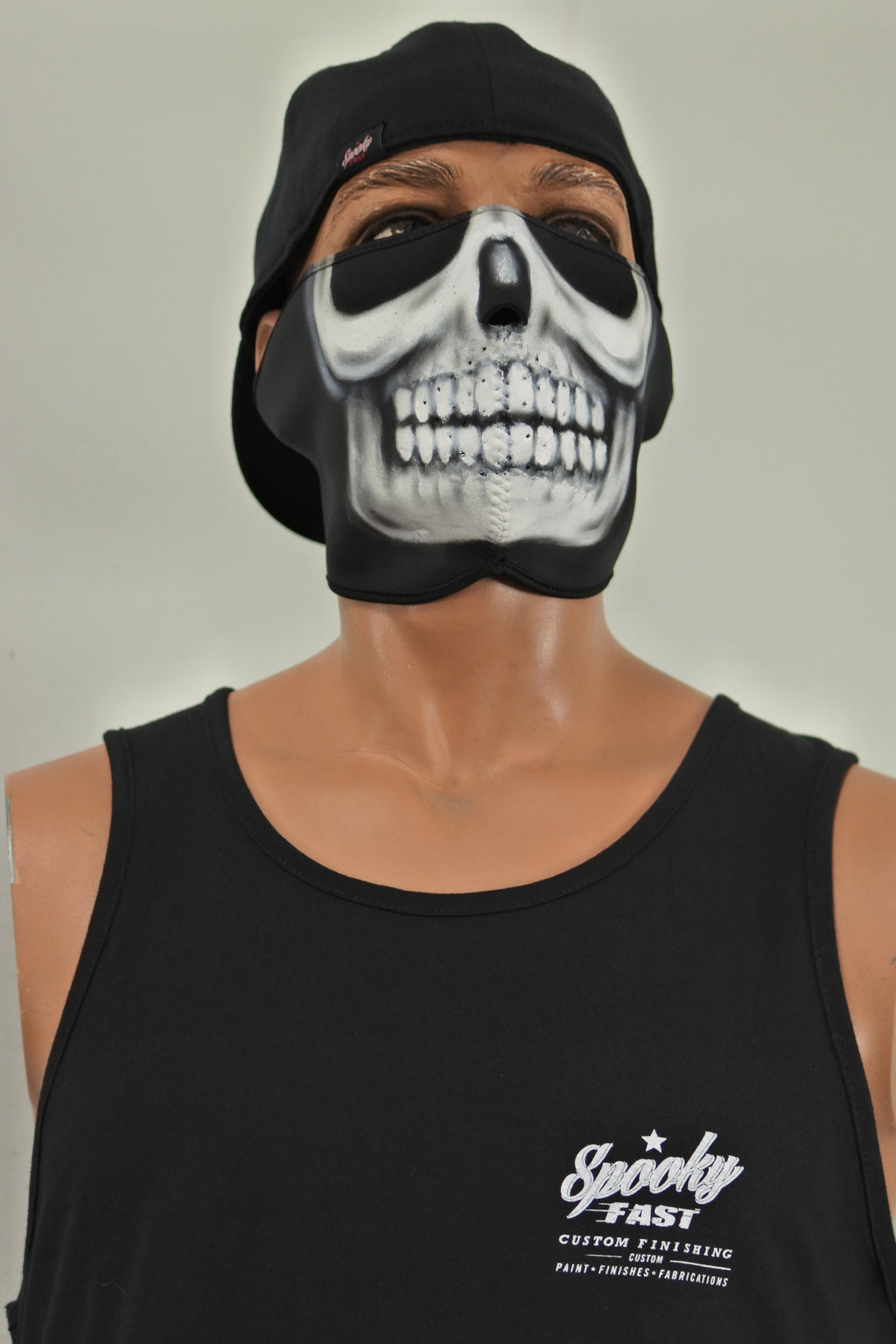 Spooky Fast Big Wheel Bagger Tank Top - Black