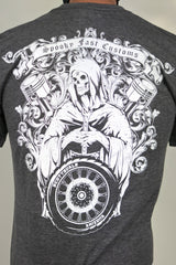 Spooky-Fliction T-Shirt - Gray