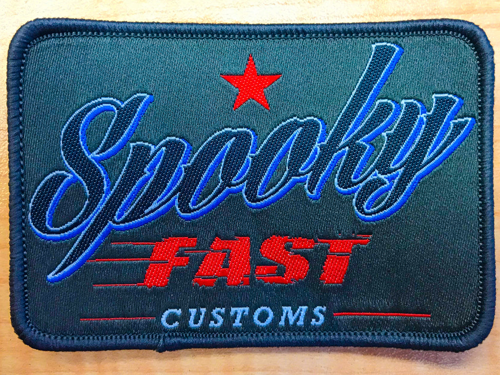 Spooky Fast Corporate Logo Patch