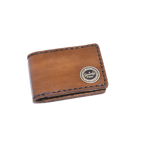 Spooky Fast Corporate Wallet - Brown