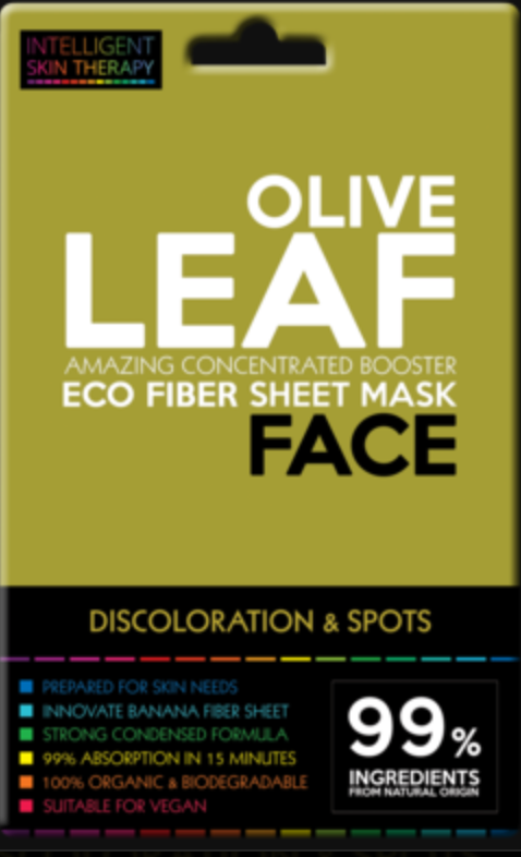 Olive Leaf Intelligent Skin Therapy Face Mask