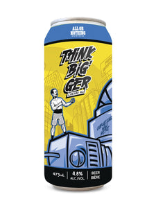 All or Nothing Think Big'Ger Cream Ale