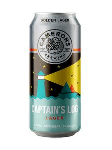 Cameron's Brewing Captain's Log Lager