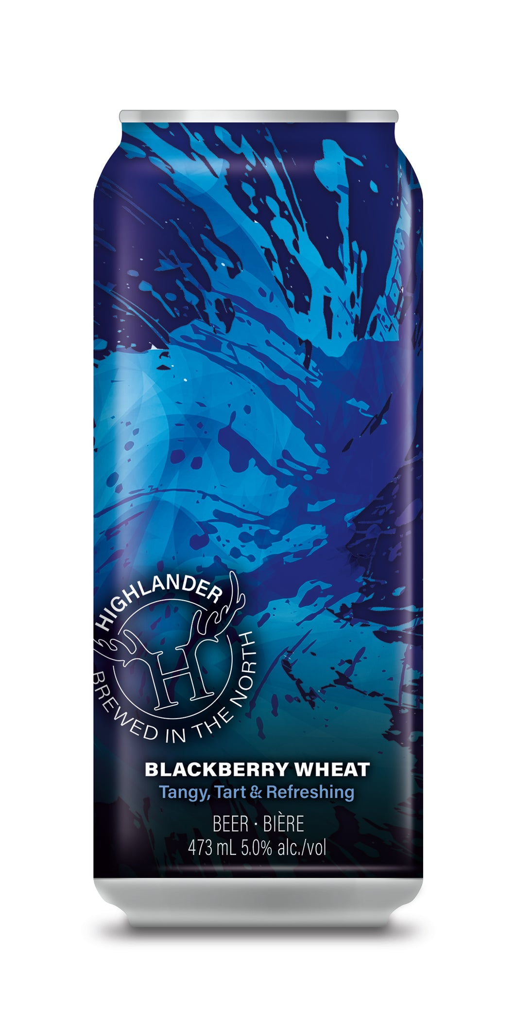 24 Special Highlander Brew Co. Blackberry Wheat