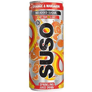 Suso Fruit Juice 250 ml (Pack of 24) - Livewell Direct