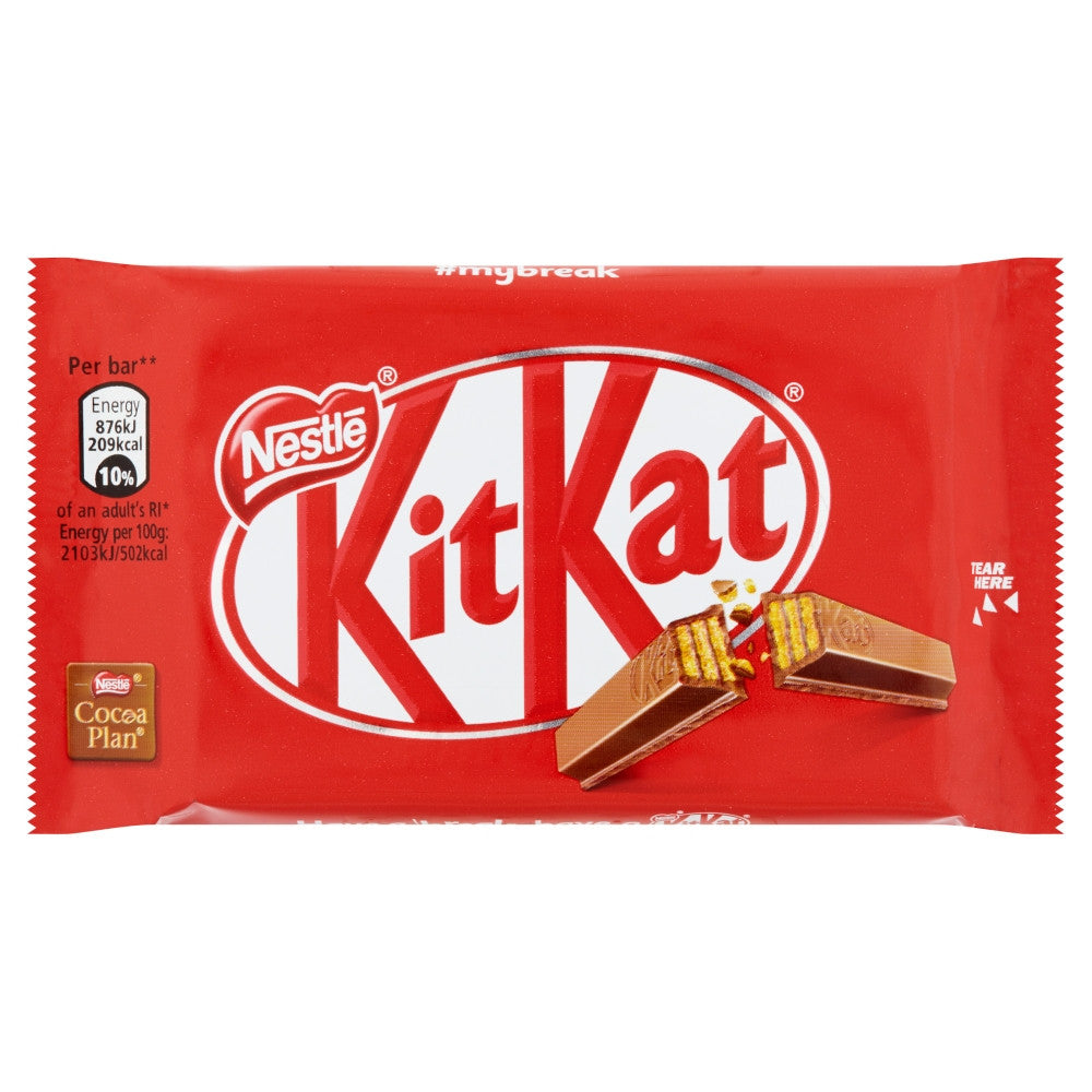 Kit Kat 4 finger 41.5g - Livewell Direct