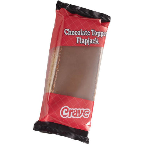 Crave Chocolate Topped Flapjack - Livewell Direct