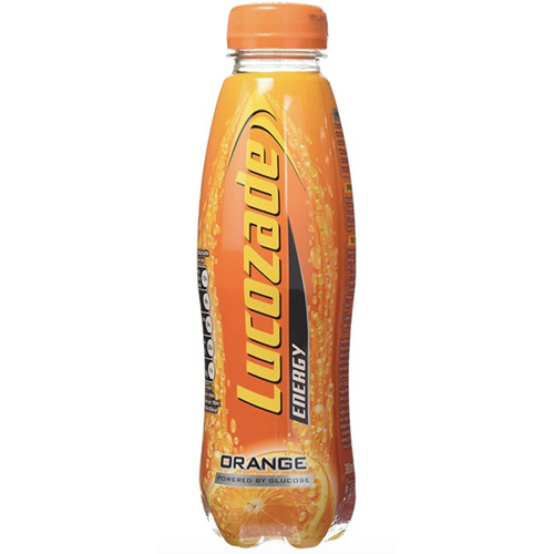 Lucozade Orange Energy Drink 380 ml (Pack of 24) - Livewell Direct