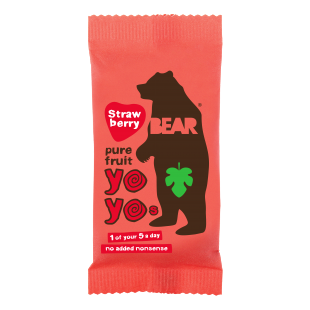 Bear Yo Yos Strawberry - Livewell Direct