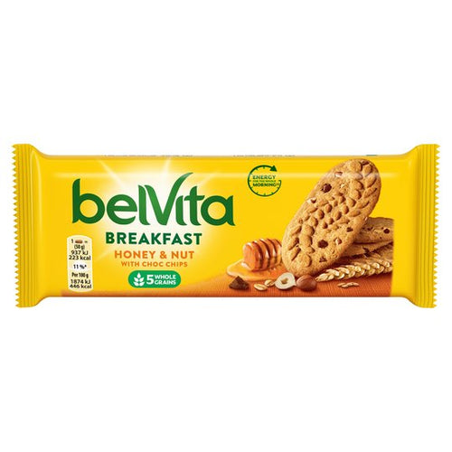 Belvita Breakfast Honey & Nut with Choc Chips - Livewell Direct