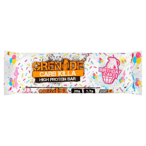 Grenade Carb Killa Birthday Cake 60g - Livewell Direct