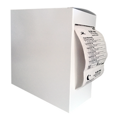 "Adherence White Dispenser Boxes, 7x7x2.75""  (carton of 175)"