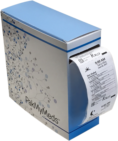 PakMyMeds Dispenser Boxes, 7x7x2.75