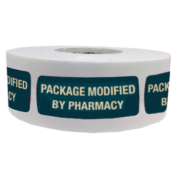 Label: Package Modified by Pharmacy