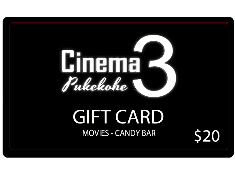 Pukekohe Cinema $20 Gift Card