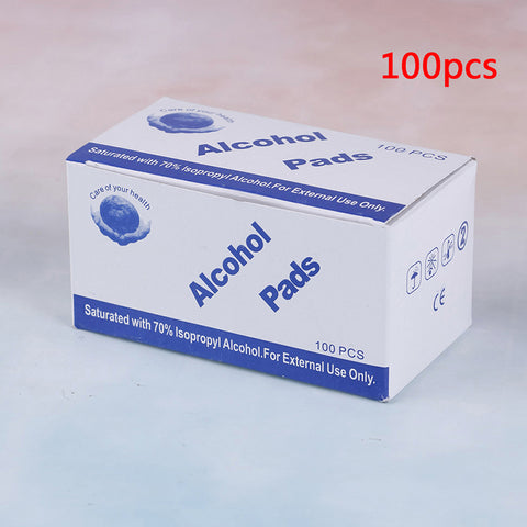 100 Pcs Alcohol Wet Wipe