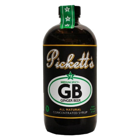 Pickett's Ginger Beer Concentrated Syrup (#1 Medium Spicy)