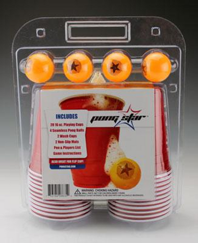 Pong Star Beer Pong Kit