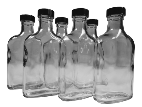 Tricky Ricky 200ml Travel Glass Flask