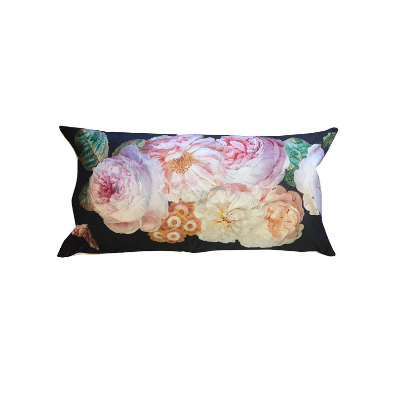 Cuscino Black Rose
