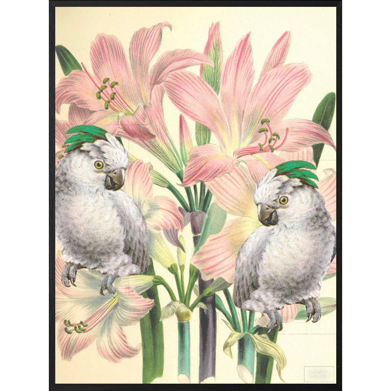 Quadro decorativo 30x40 Mirror Birds