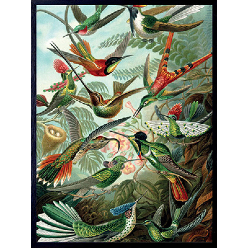Quadro decorativo 30x40 Retro Birds