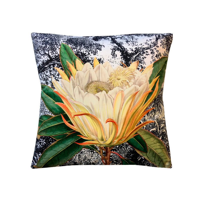 Cuscino Yellow Protea