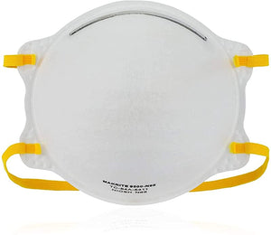 Makrite NIOSH Certified N95 Mask Pre-Formed Cone Particulate Respirator Mask