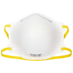NIOSH Certified N95 Respirator Face Mask, Pre-Formed Cone, Choose Pack