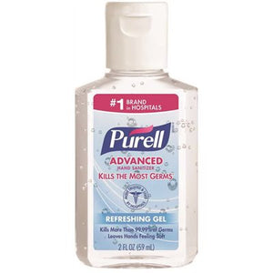 Purell Hand Sanitizer 2 Ounce Squeeze Bottle