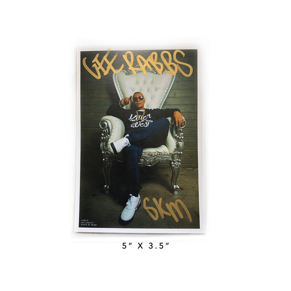 [Collectors Edition] West Adams Album With Autograph Photo Print