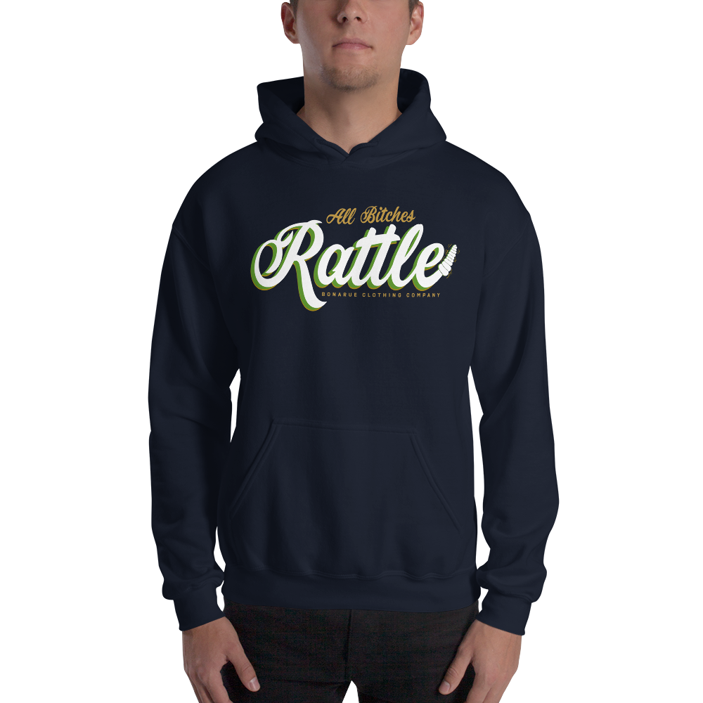 """All Bitches Rattle"" Vol 2 Conejo Lyric Hoodie"