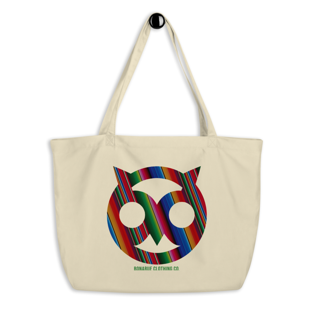 Bonarue Owl Organic Cotton Tote Bag