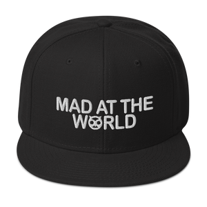 "Open image in slideshow, ""Mad At The World "" Snapback Hat"
