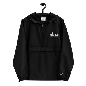 Open image in slideshow, SKM Embroidered Champion Packable Jacket