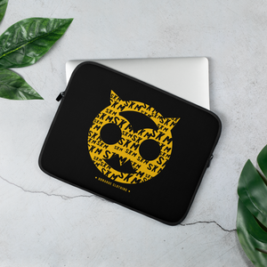 Open image in slideshow, Bonarue Owl SKM Laptop Sleeve