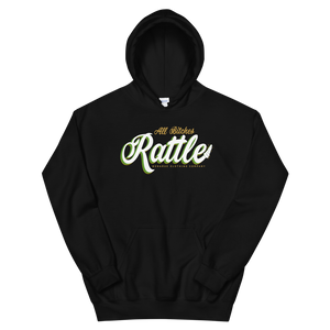 "Open image in slideshow, ""All Bitches Rattle"" Vol 2 Conejo Lyric Hoodie"