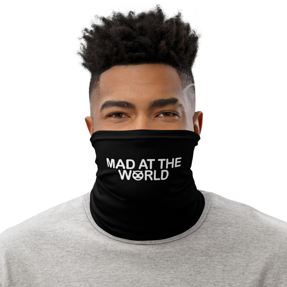 Mad At The World Face Mask