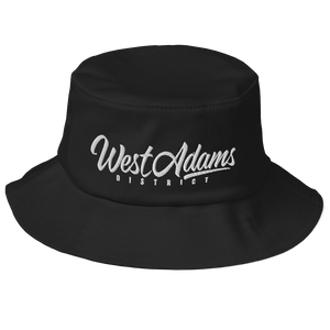 Open image in slideshow, West Adams Old School Bucket Hat