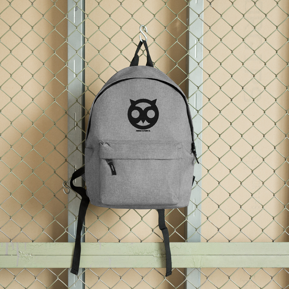 Bonarue Owl Embroidered Backpack