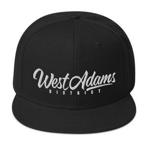 Open image in slideshow, West Adams District Snapback Hat