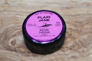 Plain Jane Cheddar Cheese - Isle of Kintyre 200g