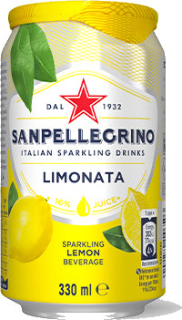 6 x San Pellegrino Limonata Beverage - 330ml